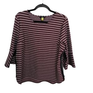 Jules & Leopold bell sleeve sweater size Large